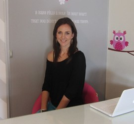 Candice Shar is the owner and designer of Twiggy Vinyl Wall Art in Kloof