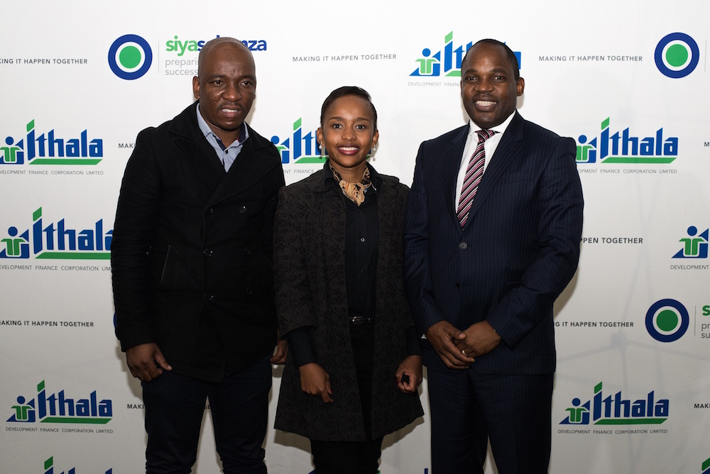 Siphesihle Gazu, Senior Account Manager: Micro-Finance at Ithala Development Finance Corporation; Lynette Ntuli, CEO: Innate Investment Solutions and Founder of IgniteSA and Abel Dlamini, guest speaker