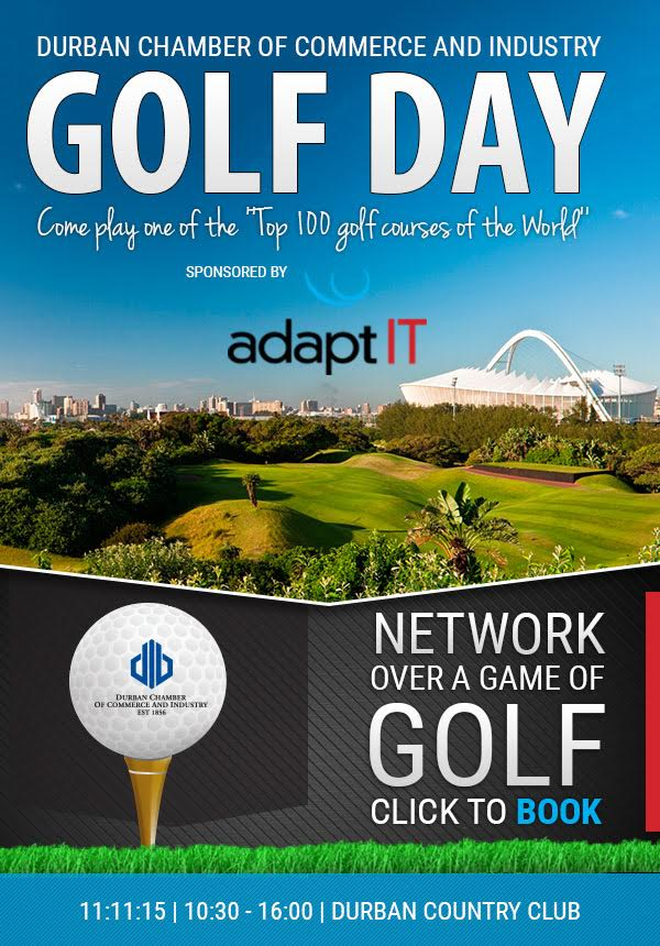 Durban Chamber of Commerce Golf Day