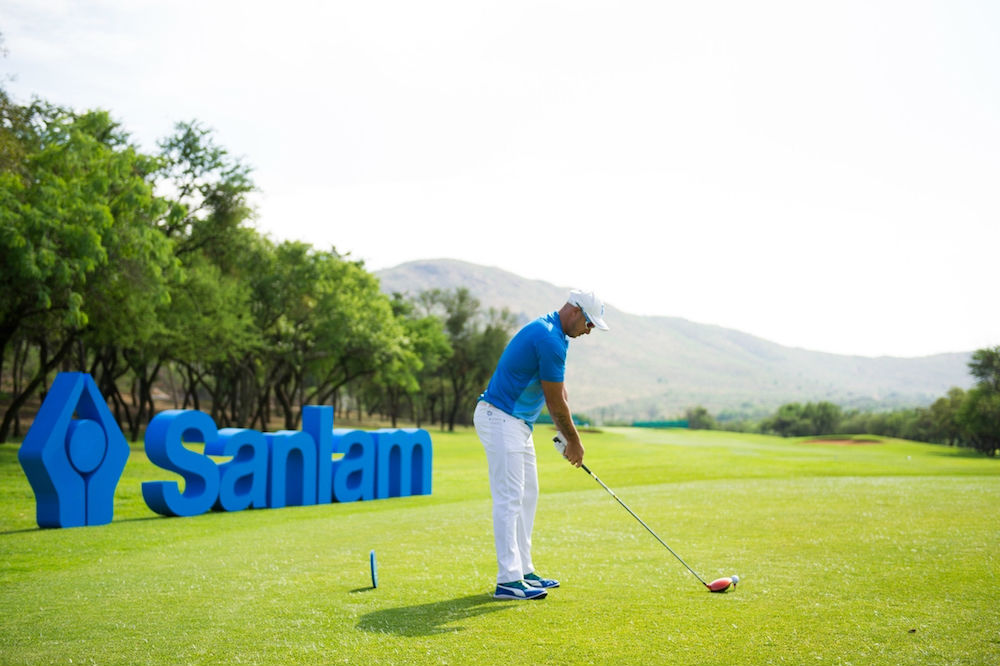 Former Proteas cricket star Herschelle Gibbs is one of the thousands of South African golfers who supports the Sanlam Cancer Challenge. Credit: Sportzpics.
