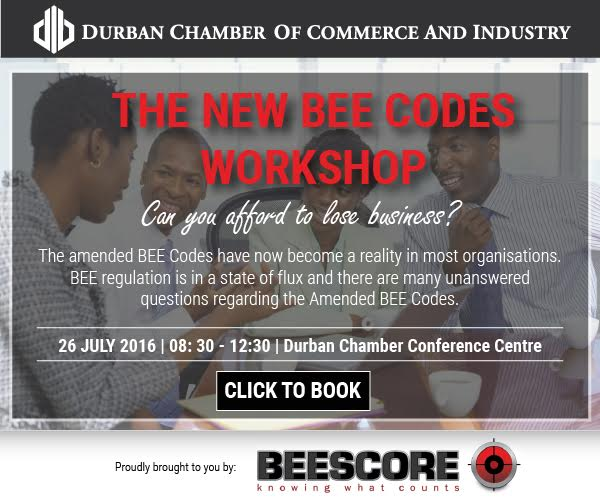 BEE score workshop