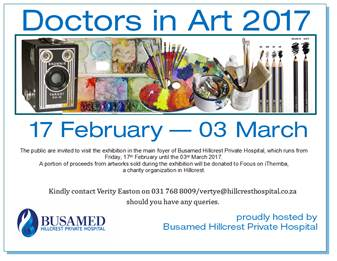 Doctors in Art Exhibition - Famous Publishing - Famous