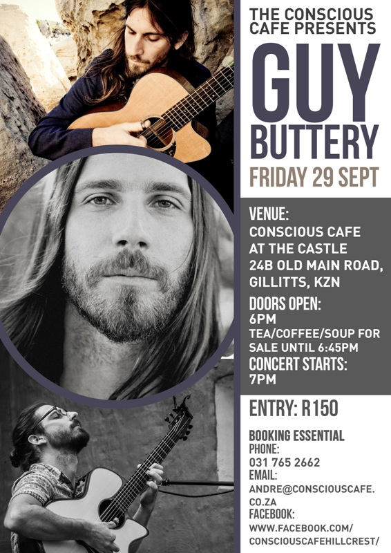 Guy Buttery live in Hillcrest
