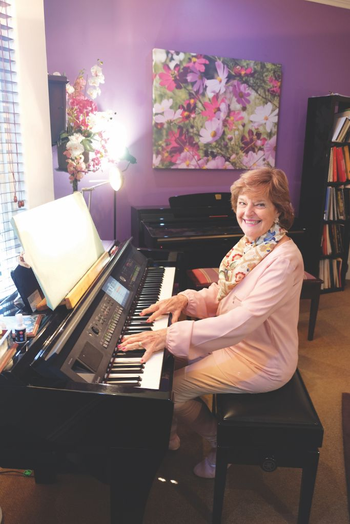 oe Slade has been spreading her love for music through piano, organ and keyboards for over 50 years.