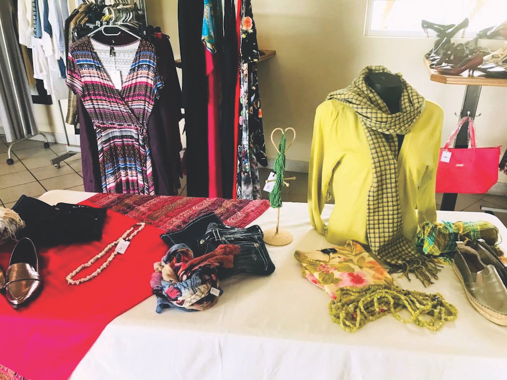 Fashion from Chic Mamas Do Care event