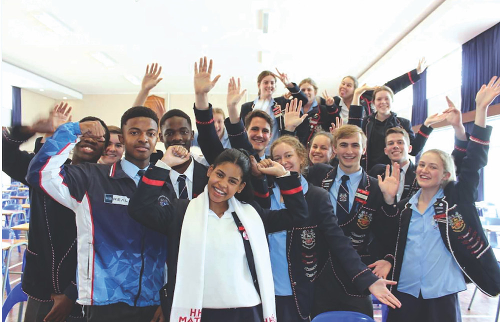 Learners from Hillcrest High School