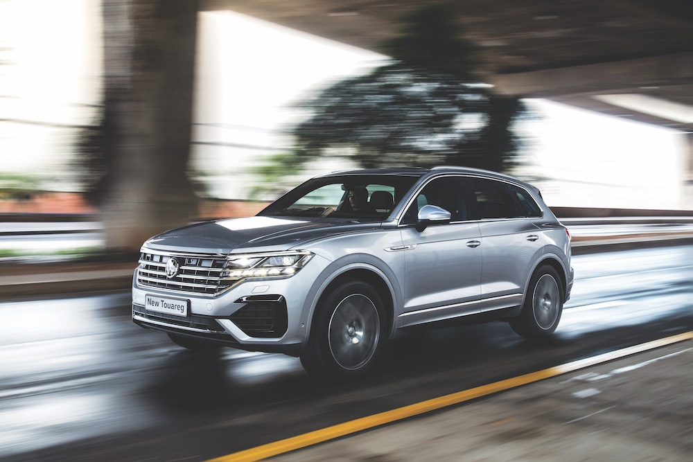 The latest Touareg